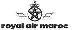 The logo of Royal Air Maroc. Homeric Tours' flight airline partners.