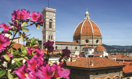 View of the famous Duomo in Florence, one of the destinations of Italy Rome Florence Venice holidays
