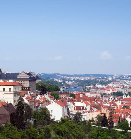 Panoramic view of Vienna. Grand Capitals Prague Vienna Budapest holidays package.