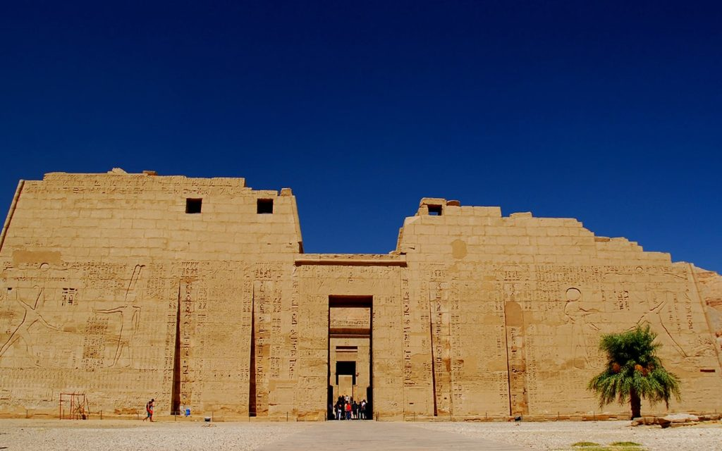 The exterior of the Temple of Philae, one of the destinations of Egypt holidays package.